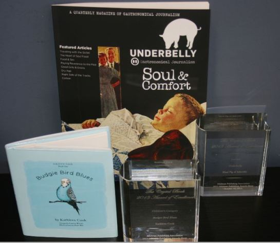 Budgie Bird Blues and Underbelly were winners of the Crystal Award of Excellence from MPA