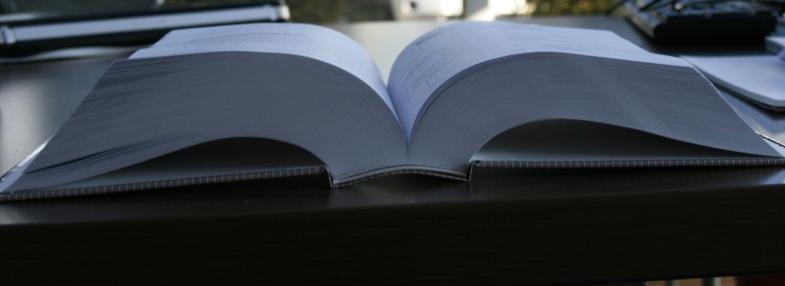 PUR binding, short run books