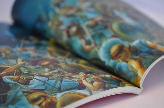 POD books in full color